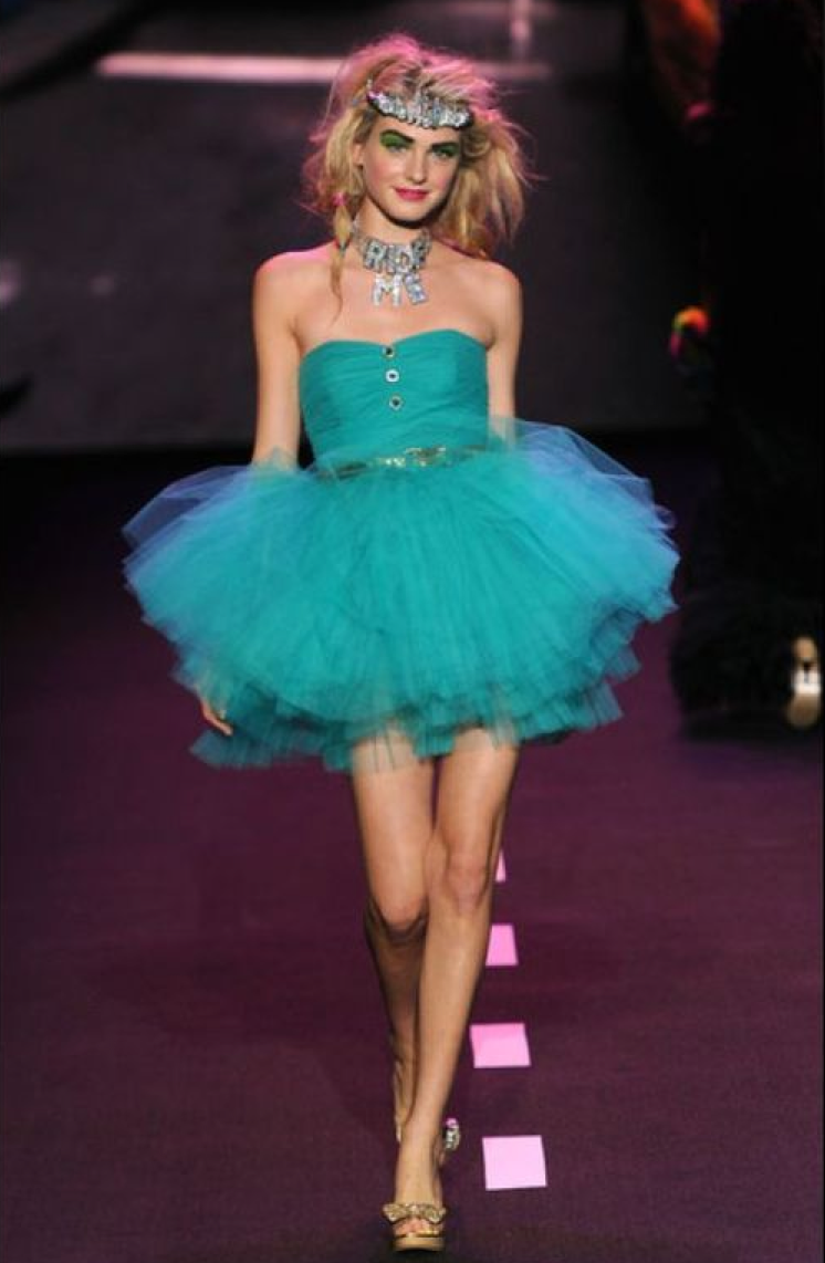 BETSEY JOHNSON POW POOF PINK COCKTAIL PARTY DRESS