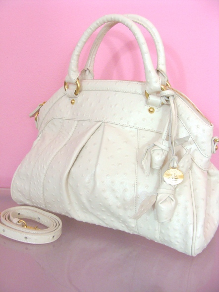 Brahmin Louise Rose Satchel Bag