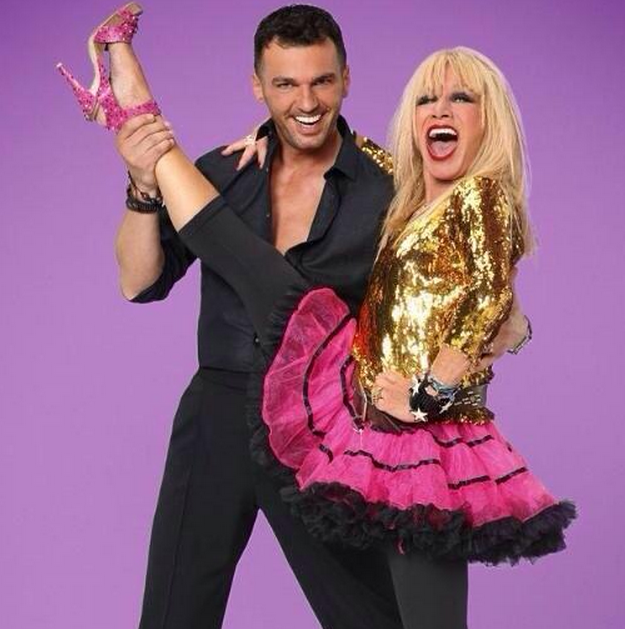 Betsey Johnson stars on Dancing with the Stars