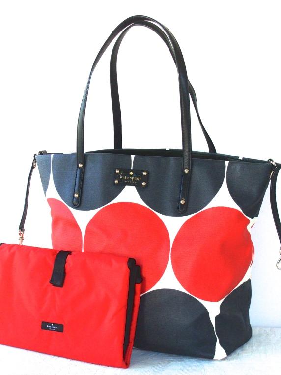 Kate Spade Bon Shopper Baby Bag