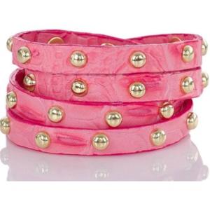 BRAHMIN Studd Wrapped Bracelet Pink Lychee Melbourne