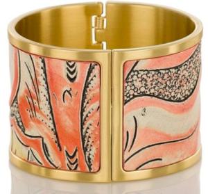 Brahmin Large Cuff Bracelet Sunset Batik