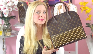 Louis Vuitton Celebrating Monogram Christian Louboutin Shopper Tote