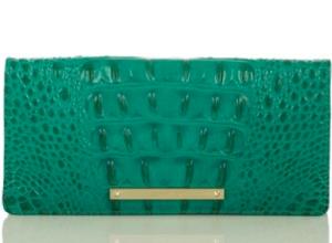 Brahmin Ady Lagoon Green Wallet