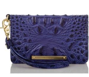 Brahmin Turkish Blue Debi Wallet
